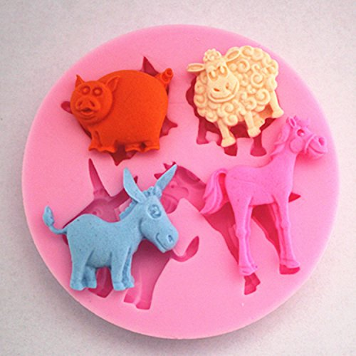 Top Fashion Direct Selling Cake/egg Tart Mold Sgs Eco-friendly Cookie Cutters Cozinha Ov097 Small Animal Mold Lace