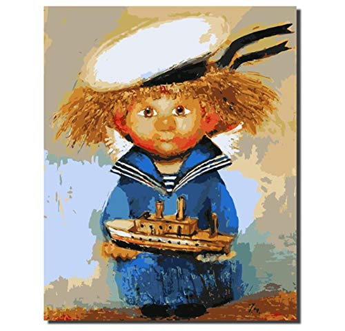 Jigsaw Puzzle 1000 Piece 3D Puzzle DIY Naval Costume Scarecrow Home Decor Handed ()