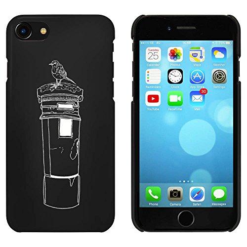 Noir 'Boite de Poste avec Robin' étui / housse pour iPhone 7 (MC00067391)
