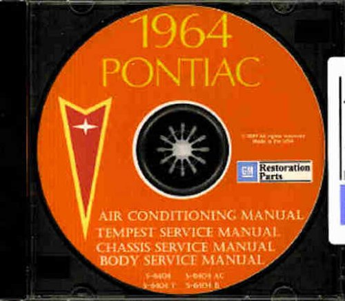 1964 Pontiac Shop Manuals,Body Service Manual