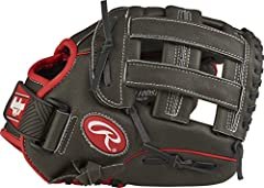 The Rawlings Mark of a Pro Light Youth Baseball Glove is expertly crafted to deliver superior on-field performance. Ideal for young athletes, this 11-inch all-leather glove features a Pro H web and Sure Catch design for reliable fielding at a...