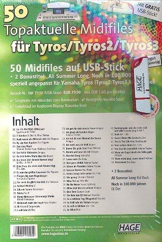 50 Fighter Pro midifiles a USB: para Tyros/Tyros 2 - 3: Amazon.es: Instrumentos musicales