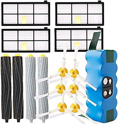 Accesorios de repuesto para iRobot Roomba 800 900 Serie Kit de recambios para iRobot Roomba 800 850 851 860 865 866 870 871 876 880 885 886 890 891 896 900 960 966 980 990-20
