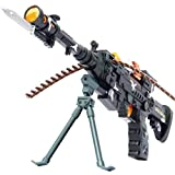 Toyshine Musical Army Style Toy Gun With Music (56cm)