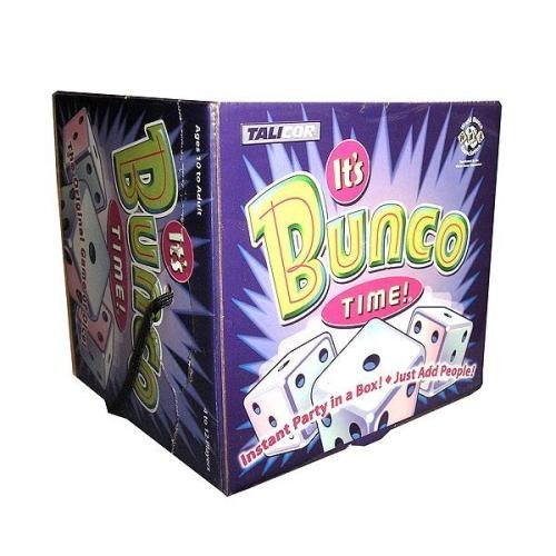 It's Bunco Time Bunco Dice Set