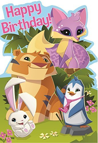 Amazon Official Animal Jam Happy Birthday Card By Wildworks