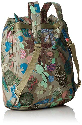 Folding Mujer Mochila Backpack Nori Oilily Classic Oilily Green Multicolor O5qZ77wvy