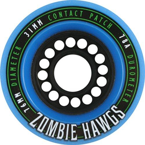 Hawgs Zombie 78a 76mm Blue Skate Wheels