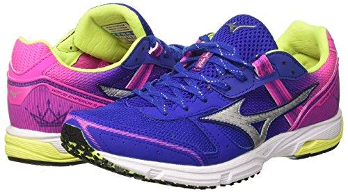 03 Wos electric Para De Multicolor Zapatillas Mizuno surftheweb silver Running Mujer Emperor Wave 7qwpS