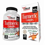 Turmeric Curcumin with BioPerine 1500mg – 120 Turmeric Capsules with Black Pepper Extract and made with Organic Turmeric Powder – Best Natural Anti Inflammatory Supplement and Joint Pain Relief Pills