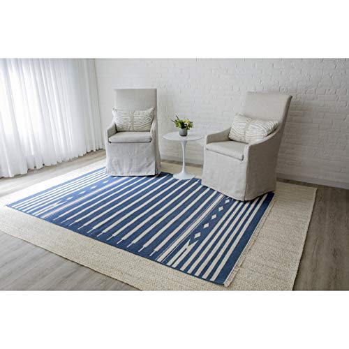 (Erin Gate by Momeni THOMPTHO-1GRY3656 Thompson Collection Billings Hand Woven Wool Area Rug, 3'6
