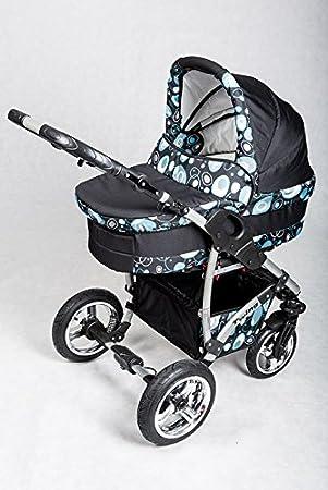 KAREX Twing - Cochecito de bebé, sillita cochecito Version Promenade sistema 3en1, protección lluvia, mosquitera - color 3: Amazon.es: Bebé