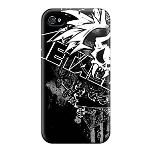Evanhappy42 Cases Covers For Iphone 6 - Retailer Packaging Metallica Logo Protective Cases