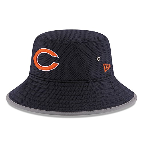 Training Camp Bears - New Era Men's NFL 2016 Training Camp Sideline Bucket Hat (OSFM, Chicago Bears)