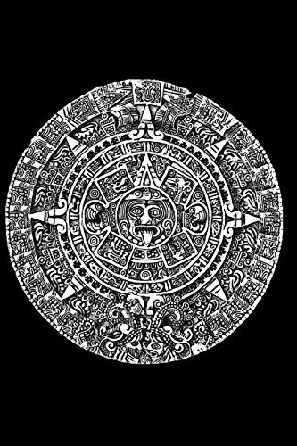 - Aztec Calendar: Blank Lined Notebook, Journal or Diary