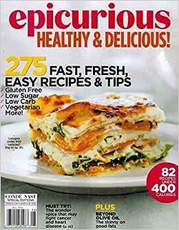 Epicurious healthy delicious conde nast special edition epicurious healthy delicious conde nast special edition winter 20152016 v amazon books forumfinder Gallery