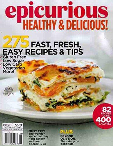 Epicurious Cookbook - Epicurious: Healthy & Delicious! (Conde Nast Special Edition - Winter 2015/2016)