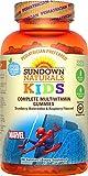 Sundown Naturals® Kids Marvel Spiderman® Complete Multivitamin,...
