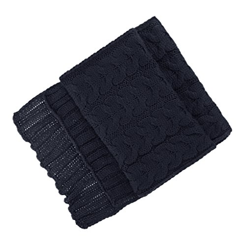 Mens Thicken Scarf Winter Knitting Patterns Scarves Teenager Boys