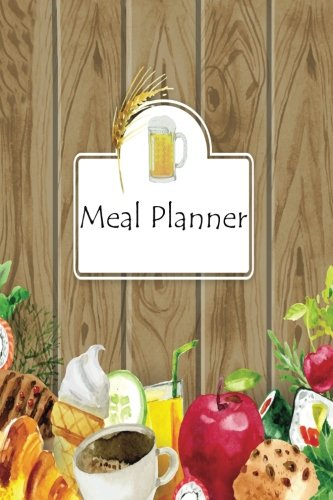 Meal Planner: : Food Diary, Meal Prep, Weekly Menu Planner, Shopping List, Meal Schedule, 52 weeks ( 1 year ),Size 6x9 Paperback