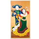 Fun Express Fiesta Couple Photo Door Banner