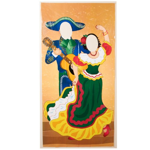 51rYogFLnpL Plastic Fiesta Couple Photo Door Banner