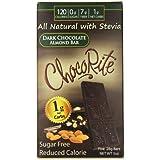 ChocoRite Dark Chocolate Bars, Almond, 5 Ounce