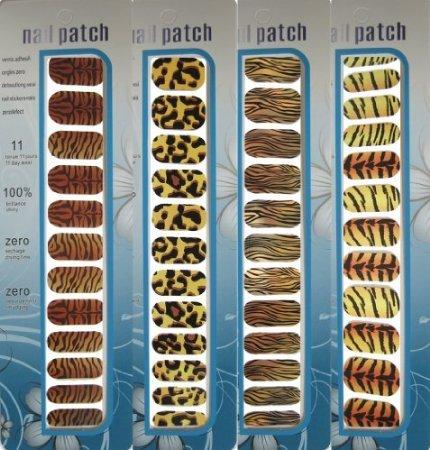 UPC 885766884794, MoYou Nail Art- 4 Nail Foil stickers wraps Bundle- M161+M200+M196+M178. Amazing nails in seconds!!!