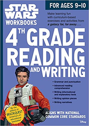 Star Wars Workbook 4th Grade Reading And Writing Star Wars