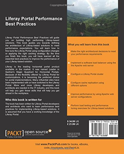 Buy Liferay Portal Performance Best Practices Book Online at