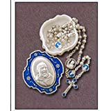 Saint Pio Rosary Beads with St Pio Rosary Box - Catholic Gifts by Catholic Gift Shop Ltd