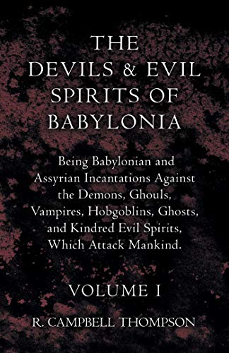 The Devils And Evil Spirits Of Babylonia - Being Babylonian for sale  Delivered anywhere in USA