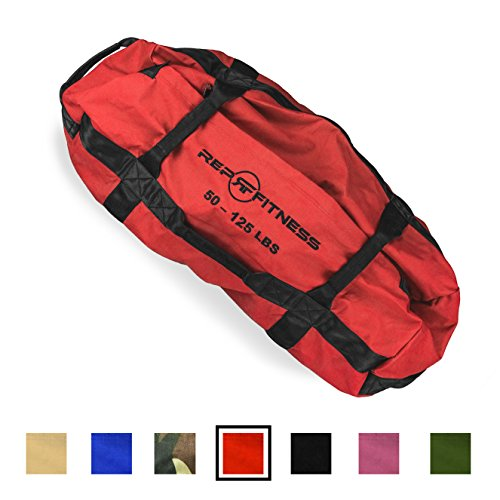 Rep Fitness Sandbag - Large, Red, 50-125 lbs