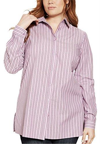 74338219c07 Jual Roamans Plus Size Katelyn Shirt - Blouses   Button-Down Shirts ...