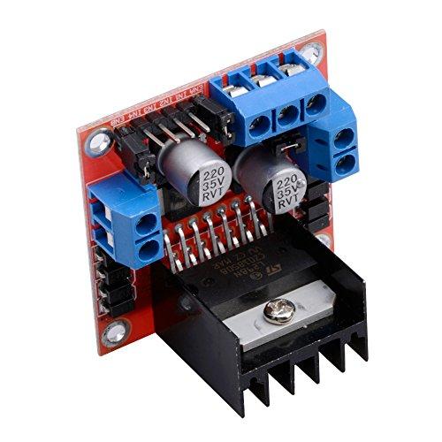 Qunqi 2packs l298n motor drive controller board module for Stepper motor buy online