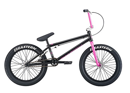 Eastern Bikes Trail digger BMX Bike, Black/Pink, 20""