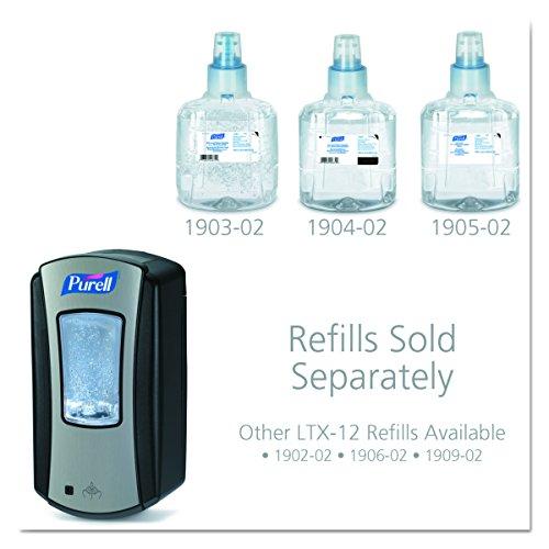 PURELL 1928-04 LTX-12 Touch-Free Hand Sanitizer Dispenser – Black, Dispenser for PURELL LTX-12 1200mL Refills by Purell (Image #2)