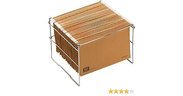 Macamsa 21501 - Bastidor de carpetas colgantes, plegable: Amazon.es: Oficina y papelería