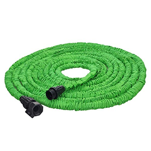Blueberry tm 100 feet super strong garden hose magic expandable hose 100 ft expandable garden Expandable garden hose 100 ft