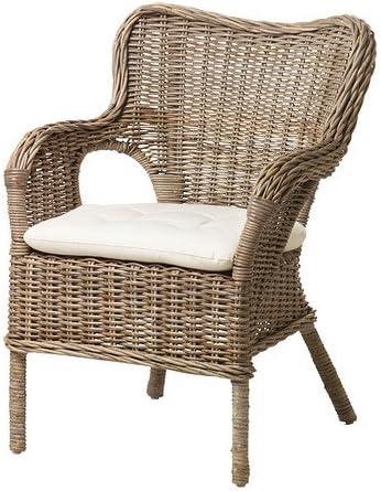 Ikea Agen Fauteuil En Rotin Bambou Bamboo Chair Grey