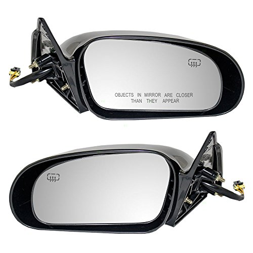 Driver and Passenger Power Side View Mirror Heated Replacement for Mitsubishi Eagle MR245294 (Mitsubishi Eagle)