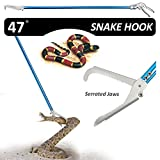 Best Snake Repellents - Fnova 47-inch Aluminum Alloy Professional Standard Snake Tong Review