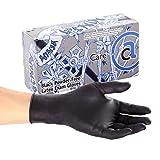 AmerCare Ninja Powder Free Exam Gloves, Latex, Large, Case of 1000