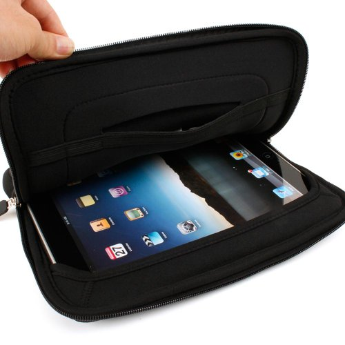 - Kroo LTE Case for  iPad Wi-Fi 4G, Neoprene with Fur Lining, Fits 9-Inch Tablet PC