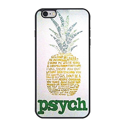 Psych Iphone 6 Plus Case ,Psych Funny Pineapple Case for Iphone 6 Plus TPU Case