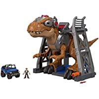 [Patrocinado] Fisher-Price Imaginext–Jurásico Rex figura juguete