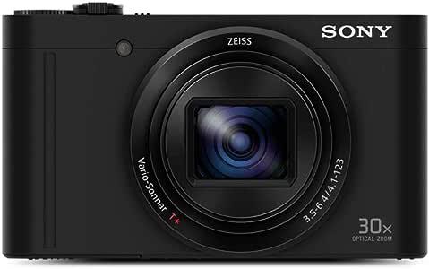 Sony New - DSCWX500B - WX500 Digital Compact Camera with 30x Optical Zoom (Black)