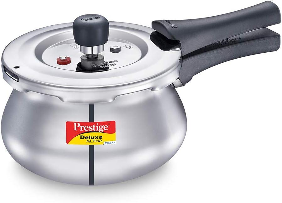 Prestige PRESSURE COOKER, 2 L Baby Handi, SILVER