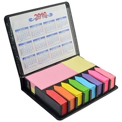2000 Pieces Page Markers Tabs Page Flags Sticky Index Tabs Arrow Flag Tabs, Fluorescent Color Note Tabs Colored Page…