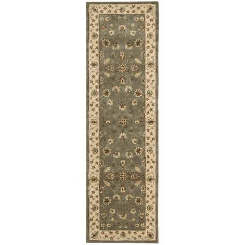 Nourison Nourison 2000 (2003) Olive Rectangle Area Rug, 2-Feet 6-Inches by 4-Feet 3-Inches (2'6